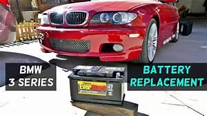 Batterie Bmw 320d : how to replace battery on bmw e46 316i 318i 320i 323i 325i 328i 330i 320d 330d youtube ~ Gottalentnigeria.com Avis de Voitures