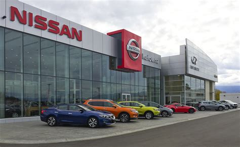 Kelowna Infiniti Nissan Dealership  Thinkspace Architecture