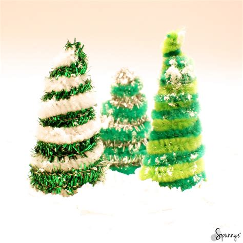 christmas pipe cleaner ornaments diy project ideas spunnys