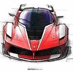 Ferrari Fxx K Prix : l 39 histoire du design de la ferrari fxx k ~ Medecine-chirurgie-esthetiques.com Avis de Voitures