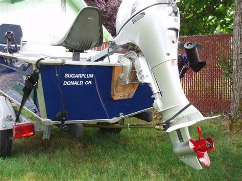 Boat Transom Saver Bar by Boat Trailer Accessories Transom Saver Frame Mount Adj