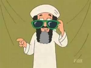 Family Guy's Stewie fights Osama Bin Laden the Naked Gun ...