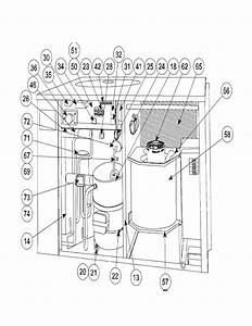Carrier Model 50yq030310 Air Heat Pump Outside