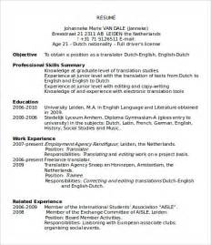 resume template microsoft word sle microsoft word templates download free documents in word excel ppt