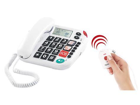 simvalley Notruftelefon NotrufSeniorenTelefon XLF