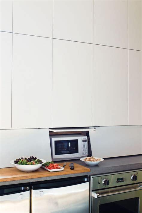 strategies  hiding  microwave remodelista