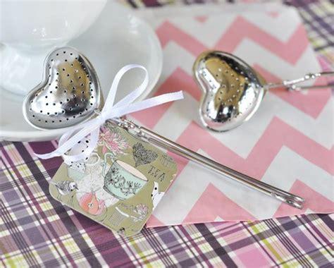 Heart Tea Infusers Favors
