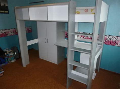 lit mezzanine armoire bureau lit mezzanine bureau et armoire my