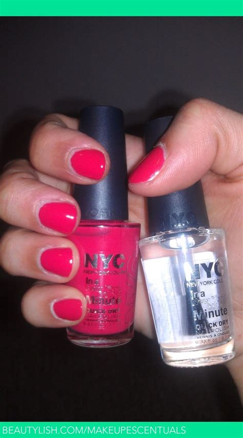 nyc    york minute quick dry nail polish tania