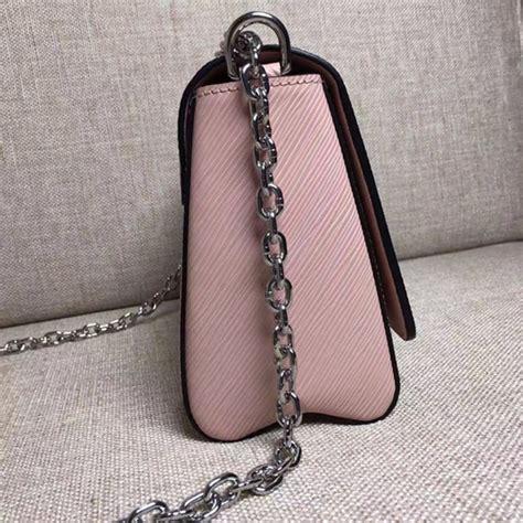 louis vuitton  twist mm shoulder bag epi leather