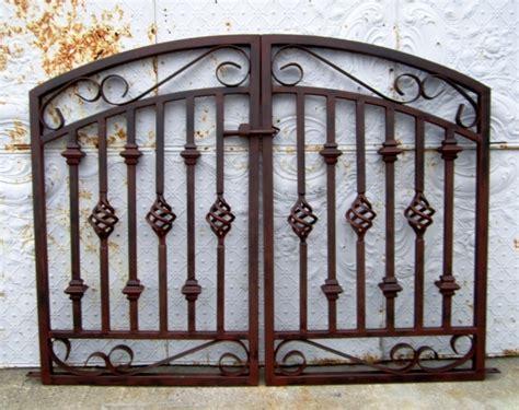 20 Best Wrought Iron Gates Allstateloghomescom