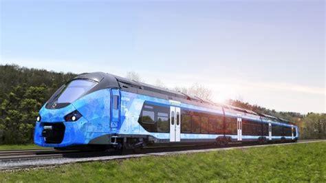 alstom unveils hydrogen train concept  french regions