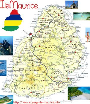Ile De Tourisme Carte by Info Carte Ile Maurice Tourisme