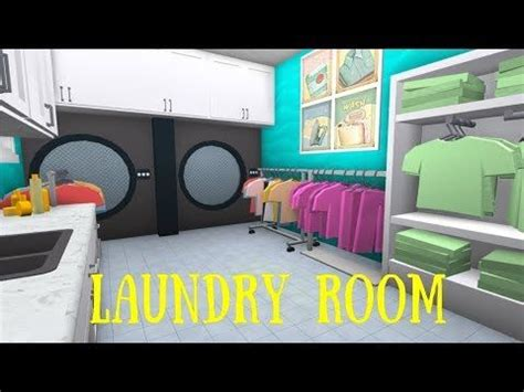 robloxbloxburg laundry room tutorial youtube