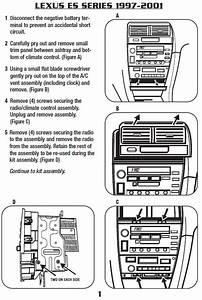 2000 Lexus Es300 Installation Parts  Harness  Wires  Kits