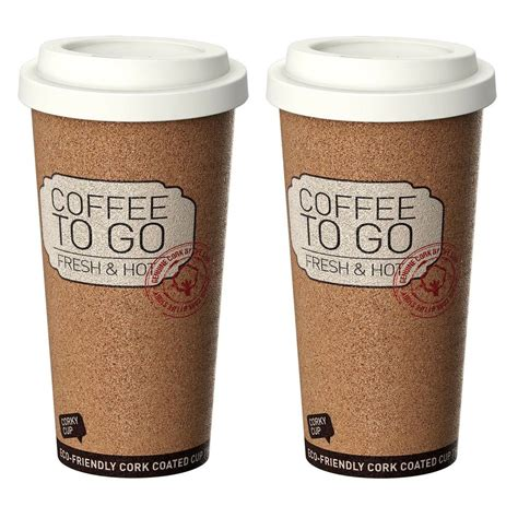 Coffee cups are a staple in most households, but there are so many different options on the market. Life Story Corky Cup Reusable 16 oz Insulated Travel Mug ...