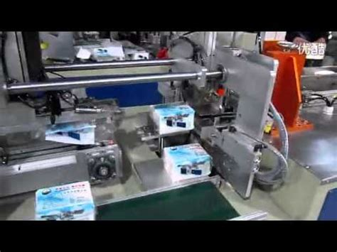 soft tissue paper packing machine automatic napkin paper bagging  sealing machine youtube