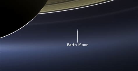 This What The Earth Looks Like Seen From Saturn