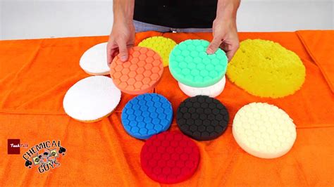 polishing buffing pads choosing  correct polishing