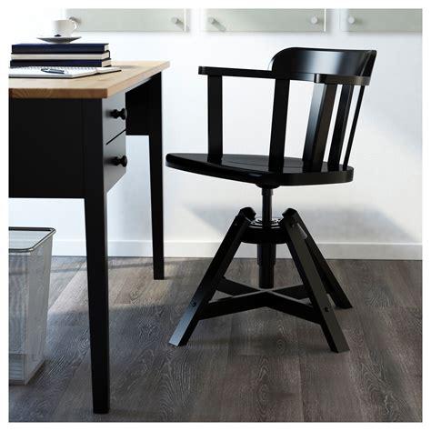 chaise avec accoudoir ikea feodor swivel chair with armrests black ikea