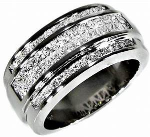 diamond wedding bands for men wardrobelookscom With guy wedding rings diamonds