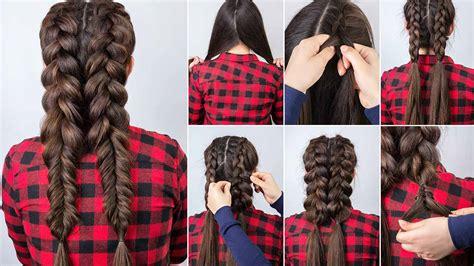 5 Pretty Braided Hairstyle Ideas For Long Hair