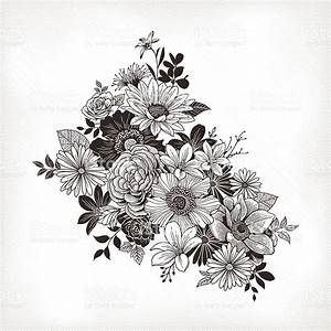 Vintage Flowers Stock Vector Art & More Images of 2015 ...
