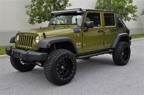 lifted jeep green rescue green jeep rubicon 28 images 2007 2008 2009