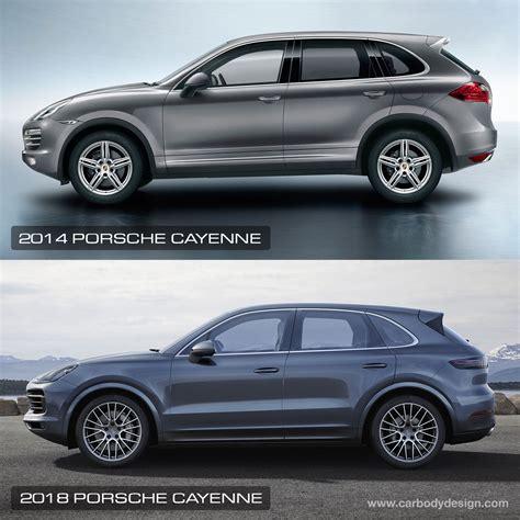2018 vs 2019 porsche cayenne 2016 vs 2018 porsche cayenne design comparison car