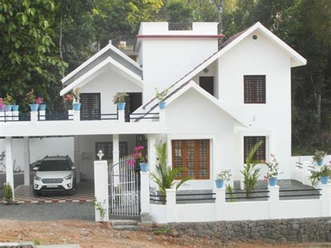 5 Cent Home Designs : 2400 Sq.ft 4 Bhk Posh House On 9.5 Cent Land At Ettumanoor