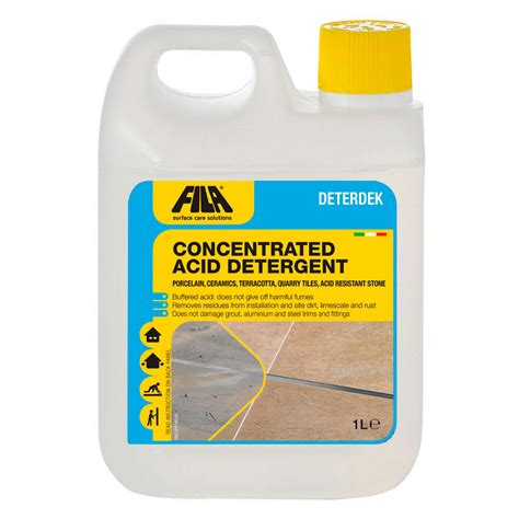 fila deterdek acid descaling floor cleaner bathroom