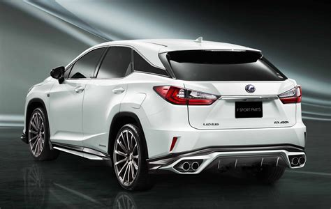 nissan armada rear toyota 39 s trd division makes the lexus rx look even more