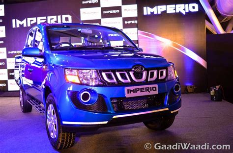 mahindra imperio launched  india specs price mileage