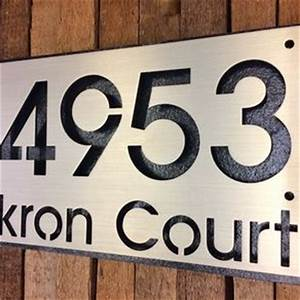 custom house numbers and letters custom address signs With custom house numbers and letters