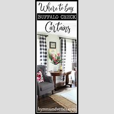 Where To Buy Buffalo Check Curtains  Hymns And Verses