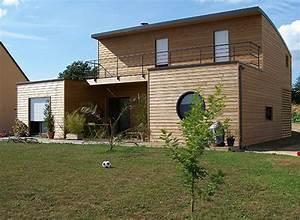 Maison Bois Contemporaine : maison bois contemporaine moderne mpc construction normandie ~ Preciouscoupons.com Idées de Décoration