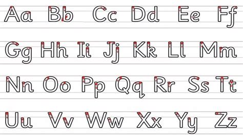 pilton infants school letter formation  handwriting