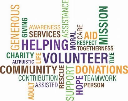 Volunteer Charity Cloud Pixabay Community Graphic Vector
