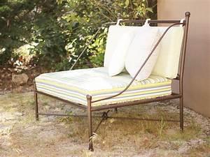 Fauteuil Fer Forgé : fauteuil fer forg de style proven al fabrication fran aise villa m lodie ~ Teatrodelosmanantiales.com Idées de Décoration