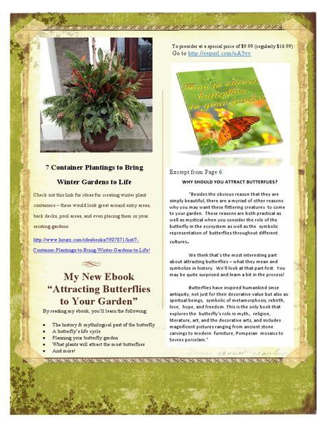 garden newsletter my new newsletter in the garden w jan in the garden w jan