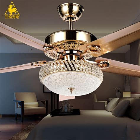 Fan For Bedroom by Three Chicken Photoelectric Luxury Decorative