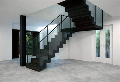 satin black staircase  eestairs stylepark
