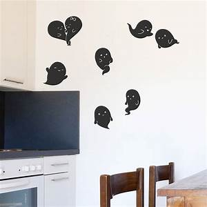 ghosts halloween wall stickers by oakdene designs With halloween wall decals