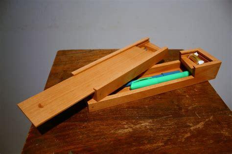 wood wood pencil box plans  plans