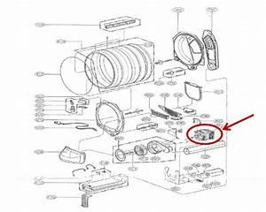 Lg Part  4681el1008a Dryer Drive Motor  Oem