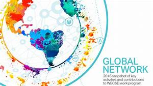 2016 snapshot of key activities and contributions to WBCSD ...