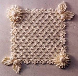 Ergahandmade  Irish Crochet Motif   Diagram
