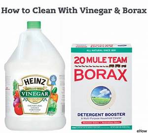 How to clean with vinegar borax vinegar and cleanses for How to clean bathroom with vinegar