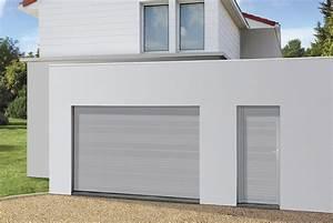 Porte de garage sectionnelle novoferm for Porte de garage sectionnelle anthracite