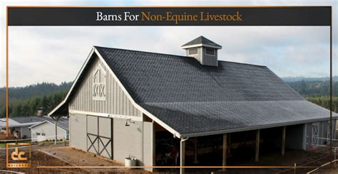 Cattle Barns Designs by Barns For Non Equine Livestock Cattle Barn Designs Dc